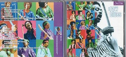 jimi hendrix bootlegs cds 1969/ raw blues