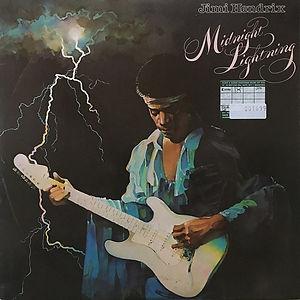 jimi hendrix vinyl album midnight lightning  / 1975 england