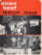 jimi hendix magazine/down beat 8/67