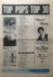 jimi hendrix newspaper 1968/november 15 1968/top 30 top pops