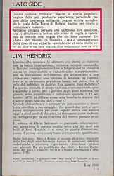 jimi hendrix book collector/jimi hendrix di dario salvatori/lato side 38 italy 1980
