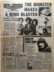 jimi hendrix collector newspaper/cue march 9 1968