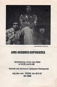 memorabilia 1969/program : january 8 1969 gothenburg sueden