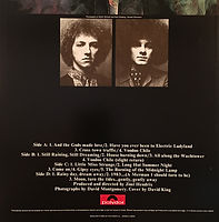 jimi hendrix collector vinyls/ electric ladyland reissue 1980 japan