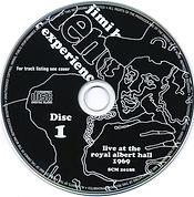 jimi hendrix cd bootleg / disc 1  /   live at the royal albert hall
