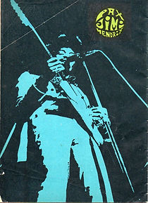 jimi hendrix collector magazines 1970/ mexico canta december 12, 1970