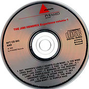 jimi hendrix collector cd bootlegs/the wid man of pop plays volume 1