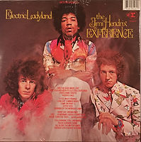 jimi hendrix vinyls collector / electric ladyland  1989  usa