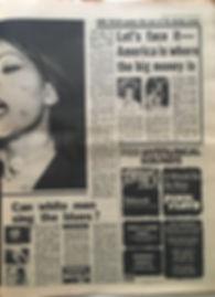 jimi hendrix newspaper/melody maker 20/4/1968/interview: mitch mitchell