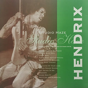 jimi hendrix vinyls bootlegs 1969 /hendrix studio haze