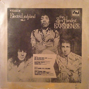 jimi hendrix rotily vinyls collector/electric ladyland vol 1/taiwan
