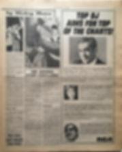 jimi hendrix newspaper 1968/ new musical express 23/11/68 hendrix story