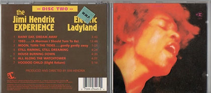 jimi hendrix cd/electric ladyland disc two/usa 1987
