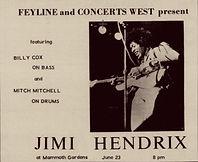jimi hendrix memorabilia 1970/ad newspaper  1970