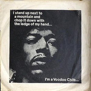 jimi hendrix collector EP/vinyls/EP Voodoo chile (first EP after jimi's death) england 23/october /1970