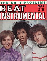 jimi hendrix rotily magazine/beat instrumental may 67