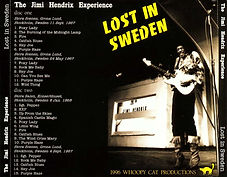 jimi hendrix bootlegs cds/1967/68 lost in sweden 2 cds 1996