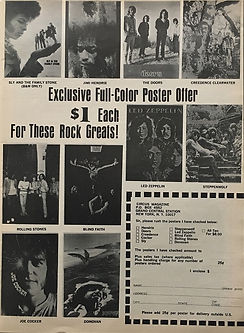 jimi hendrix magazines 1970 / circus may 1970
