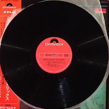 jimi hendrix vinyl album / side b/disc 2 : electric ladyland japan