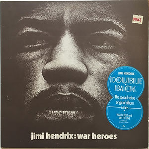 jimi hendrix album vinyls/reissue 1980 cry of love :double back 1980