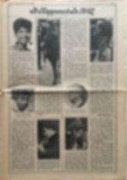 jimi hendrix newspaper/rolling stone 24/2/1968