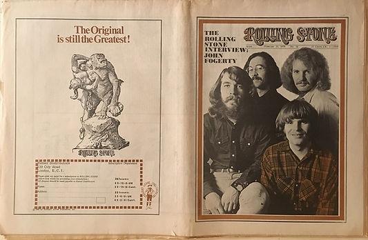 jimi hendrix newspaper 1970 /rolling stone  feb. 21, 1970