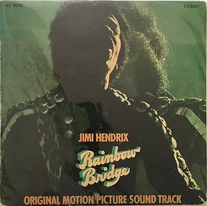 jimi hendrix vinyl album/rainbow bridge greece 1972