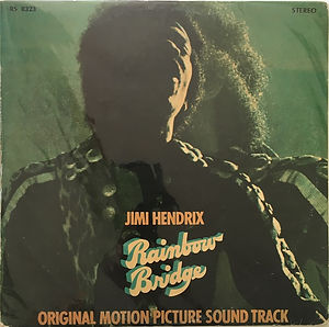 jimi hendrix vinyl album/rainbow bridge greece 1972