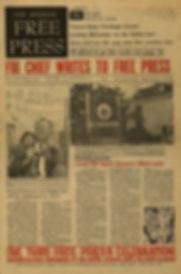 jimi hendrix newspaper 1968/los angeles free press september13 1968