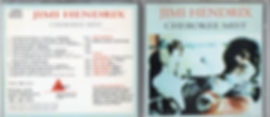 jimi hendrix bootlegs cd 69/ cherokee mist / triangle
