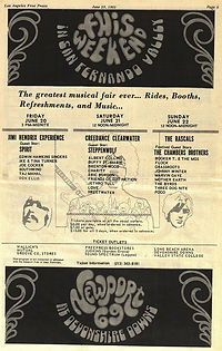 jimi hendrix memorabilia 1969/newport 69