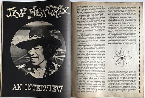 jimi hendrix an interview
