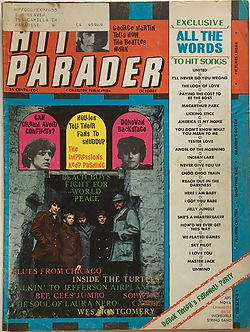 jimi hendrix magazine 1968/ october 1968