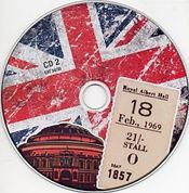 jimi hendrix bootlegs 69 / cd2 : jimi hendrix experience first night at the royal albert hall feb. 18th, 1969
