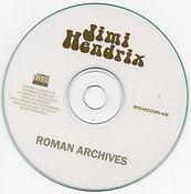 jim hendrix cd bootlegs/roman archives