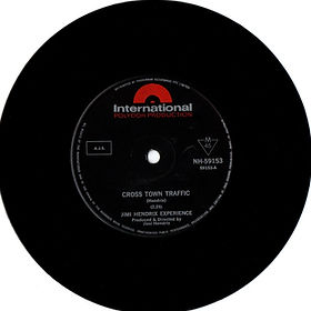 "jimi hendrix collector singles vinyls 7""/45t/cross town traffic australia 1968 international polydor"