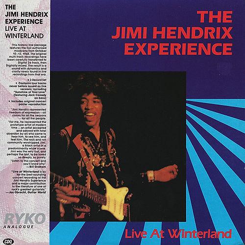 jimi hendrix vinyls collector/ live at winterland 2lp usa