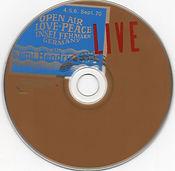 jimi hendrix bootlegs cd / jimi hendrixopen air love peace insel fehmarn