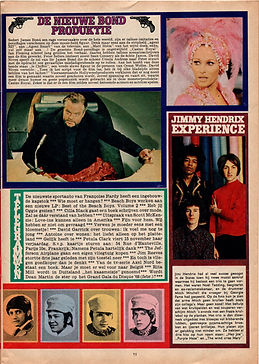 jimi hendrix collector magazine/pep N°43/