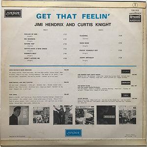 jimi hendrix vinyls albums lps/get that feelin'/ 1968