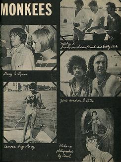 jimi hendrix collector magazine/1967