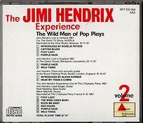 cd bootlegs jimi hendrix collector the wild man of pop plays volume 2/ 1988