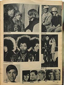 jimi hendrix magazine/spec 16 magazine spring'68