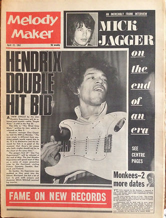jimi hendrix collector rotily newspapers