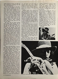 jimi hendrix magazine 1968/hullabaloo october 1968:we are 3 !