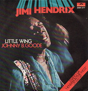 jimi hendrix vinyl single/johnny b.goode/little wing