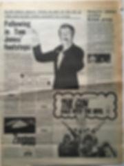 jimi hendrix newspaper 1968 / melody maker