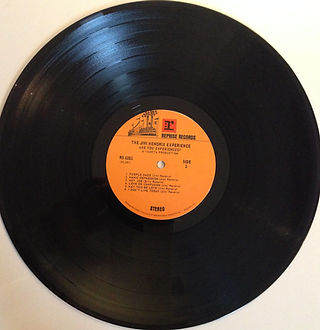 jimi hendrix collector vinyls lp/are you experienced usa 1972