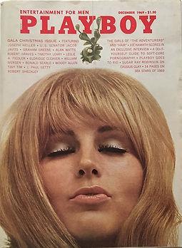 jimi hendrix magazines 1969/playboy  december 1969