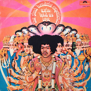 jimi hendrix collector rotily pat/axis mono s/africa